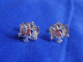 1ST QUEEN'S DRAGOON GUARDS ( THE WELSH CAVALRY ) CUFF LINKS